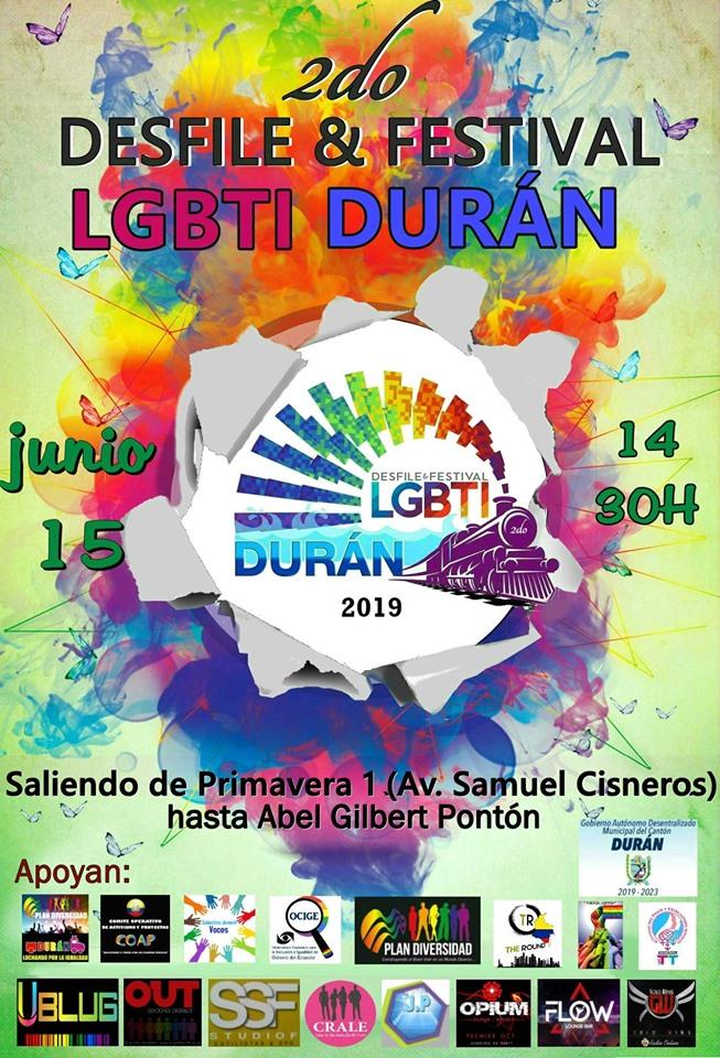 Orgullo Durán 2019 - Ecuador