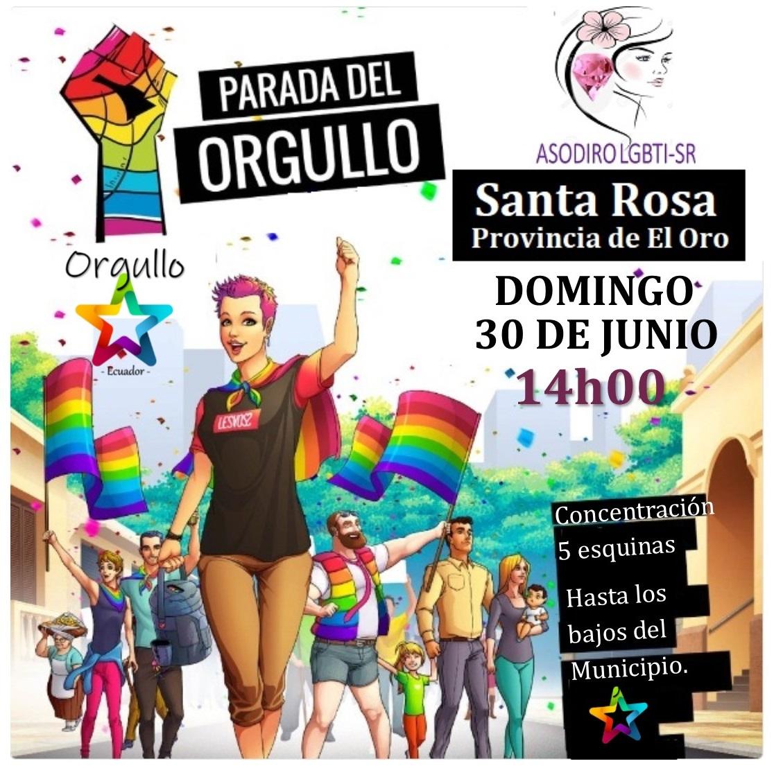 Marcha del Orgullo de Machala - Santa Rosa 2019