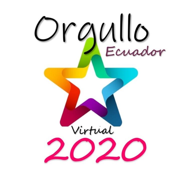 Logo Orgullo Ecuador Virtual 2020