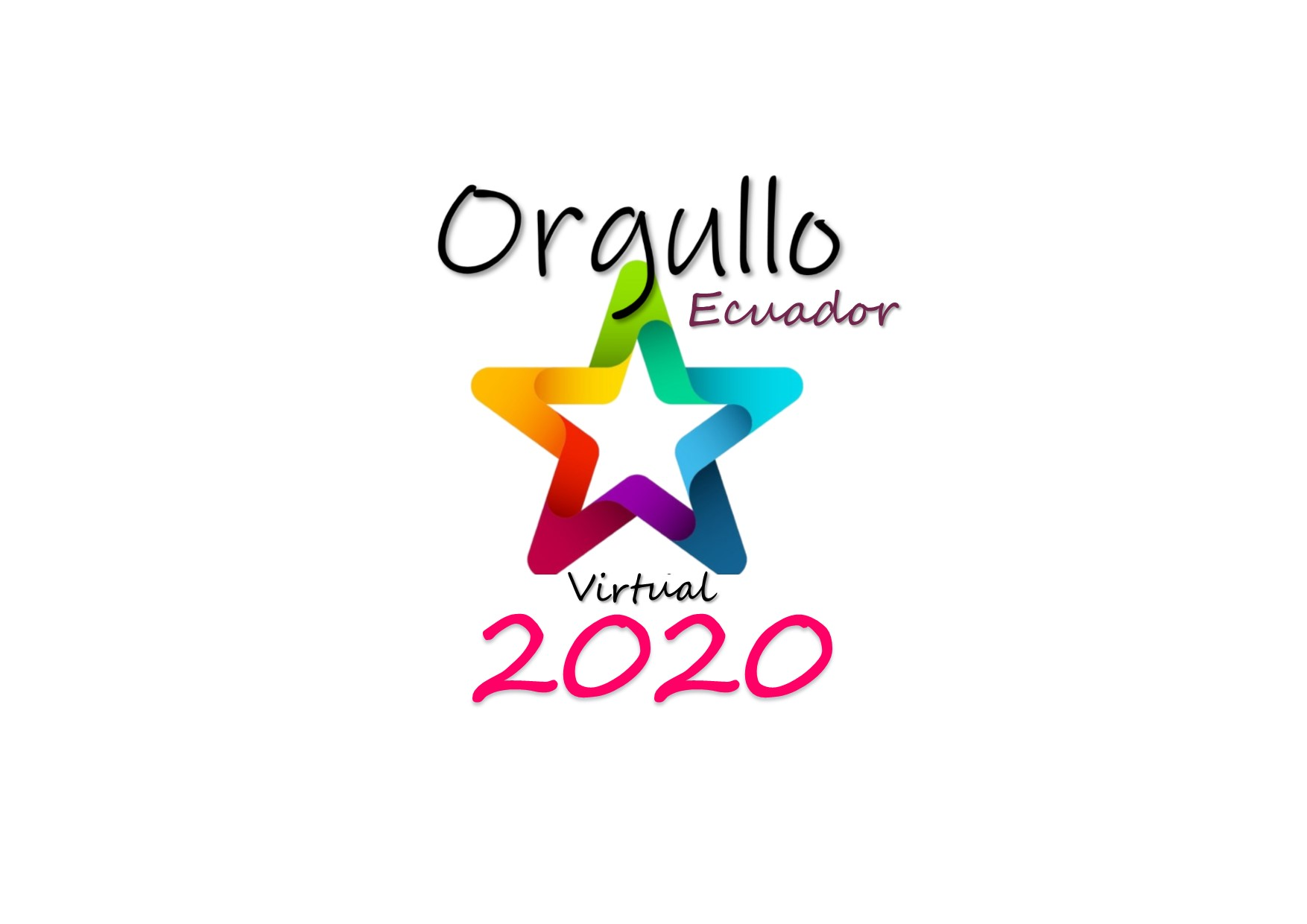 Logo orgullo Virtual 2020